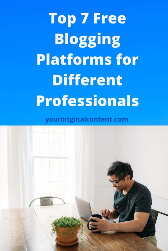 7 free blogging platforms